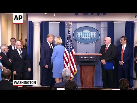 Trump Invokes Defense Mechanism To Tackle Virus