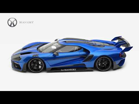 Ford Gt Le Mansory Is Limited To 3 Examples