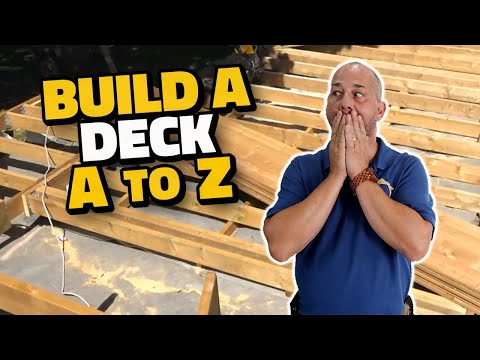 DIY How to Build a Floating Deck A to Z