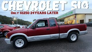 ( 24 Years Later ) Here's a 1995 Chevrolet S-10 w/300,000 Miles for $1250 CASH - Full Review & Drive