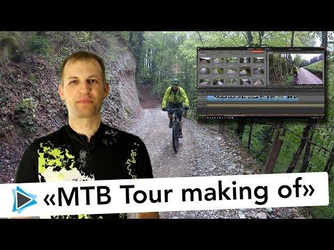 Pinnacle Studio Videoschnitt Mountainbike Tour