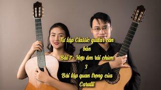 Hướng dẫn học guitar bài 7: hợp chùm 3 Carulli