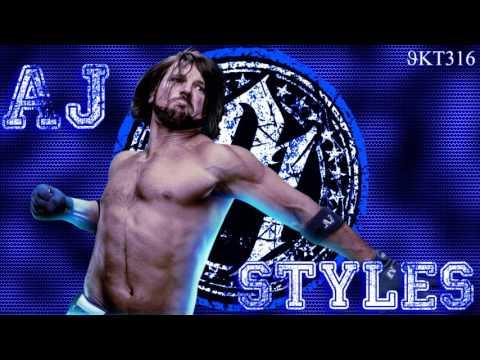 AJ Styles WWE Theme - Phenomenal (Arena Effects)