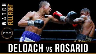 DeLoach vs Rosario Highlights: May 26, 2018 - PBC on FS1
