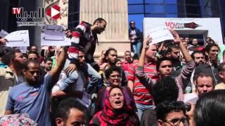 «احنا الشعب أصحاب الأرض» - من هتافات رفض ترسيم الحدود مع «السعودية» 15 أبريل