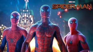 Spider-Man: Spider-Verse Theme | EPIC MUSIC SUITE (Tobey Maguire x Andrew Garfield x Tom Holland)