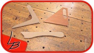 🚨 ✭ 3 Arten Schiebestock für die Kreissäge | Push Stick ✭ 🚨