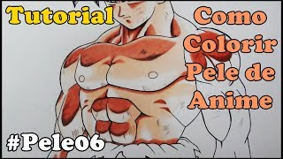 Como Colorir Pele de Anime e Mangá - How to Color Skin 6