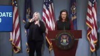 Michigan governor warns on virus numbers