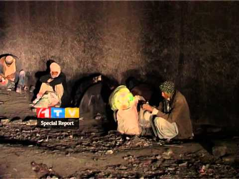 The story of an addict family in Nimroz province,Special report from 1TV 3.3.2014 گزارش ویژه