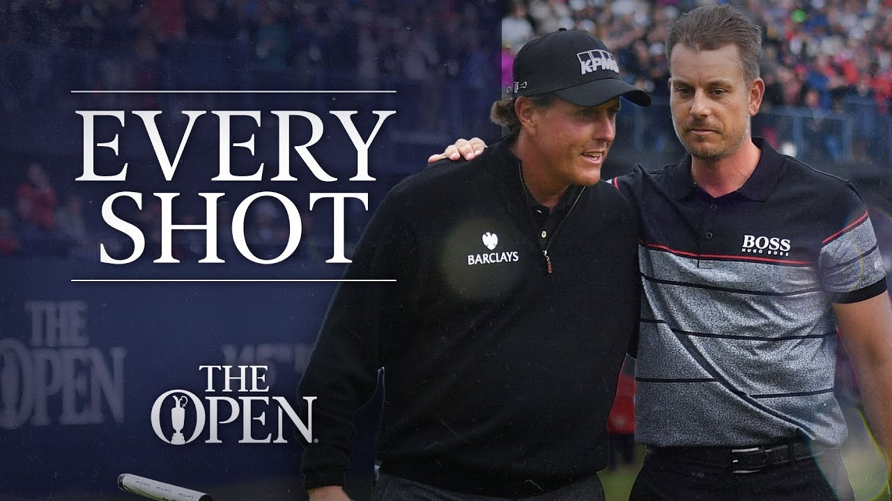 Every Shot | Stenson vs Mickelson | The 145th Open Championship