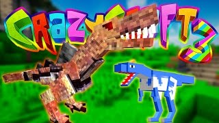 Minecraft Crazy Craft 3: Jurassic World Dimension #11