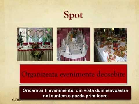 Restaurantul Spot Ramnicu Sarat organizeaza nunti si botezuri