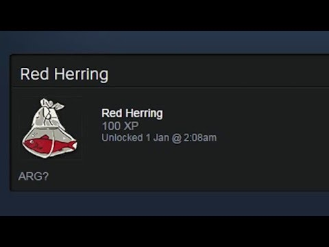 How To Get The Red Herring Steam Badge (Holiday Sale 2015)
