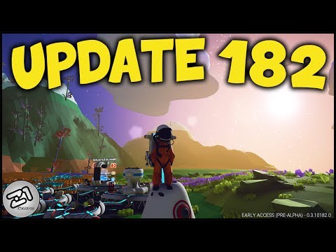 Astroneer Update 182 !! First Look, What's NEW !!! Z1 Gaming