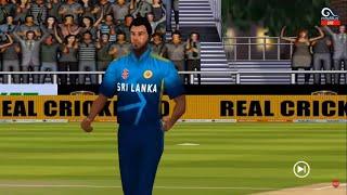 LIVE: IND vs SL 2021 Live   2nd T20   FINAL OVER 2   India vs Sri Lanka 2021 Live   Real Cricket 20