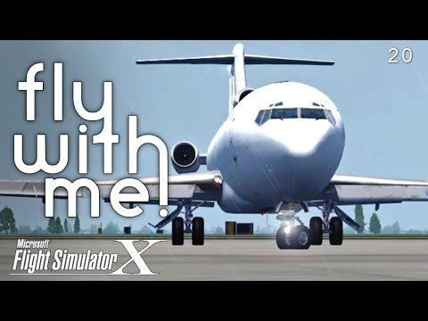 Microsoft Flight Simulator X - IFL Group 727 Part I