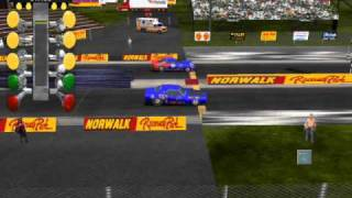 IHRA DRAG RACING GAME (SUPER GAS)