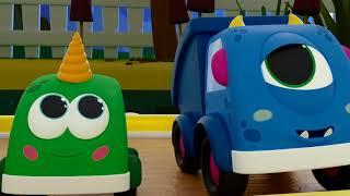 Лодочка плывет Поем с машинками Мокас - Песенки для детей