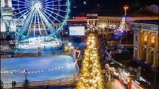 КИЕВ 2021.Рождество на Контрактовой площади 2021. Цены на еду и развлечения. Елка на Подоле 2021.