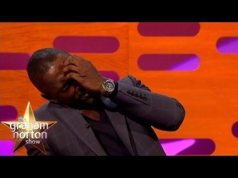 Lena Dunham & Idris Elba Sexting  Classic Graham Norton