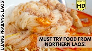 15 Must Try Types of Street Food in Northern Laos!