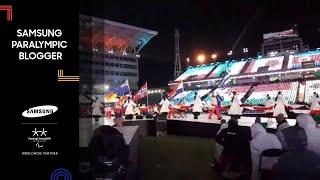 Christiane Putzich | Closing Ceremony 3 | Samsung Paralympic Blogger | PyeongChang 2018