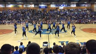 Rocklin High School Dance Team Varsity Hip Hop Runaway Rally(, 2015-01-10T21:08:48.000Z)