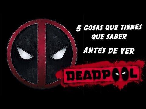 Deadpool trailer (Parodia) 5 cosas que saber antes de ver la película