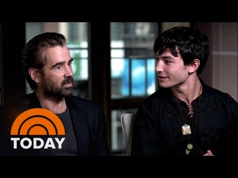 Colin Farrell On 'Fantastic Beasts': It Was Fun To Look 'Ridiculous' Waving Wands | TODAY