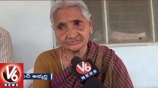 90 Year Old Women Contest In Gram Panchayat Elections | Khammam | V6 News