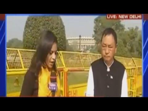 Congress MLA Ninong Ering Speaks On Demonetization   Exclusive
