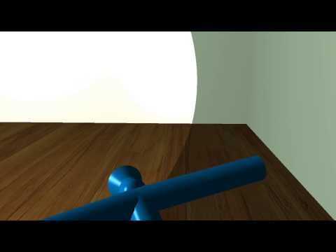 Bicycle Animation in OpenGL