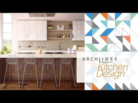 Kitchen Design - Designing Furnishing in ARCHLine.XP