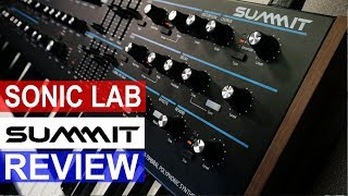 Sonic LAB: Novation Summit Synth Review
