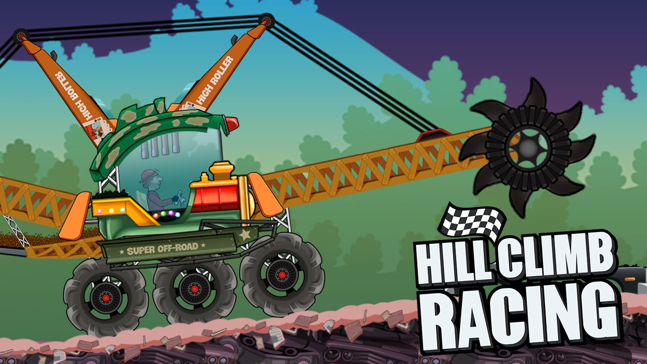 Racing Car Climb Create Hill