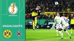 Borussia Dortmund - Borussia Mönchengladbach 2:1 | Highlights | DFB-Pokal 2019/20 | 2. Runde