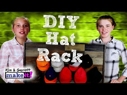 How To Make A Hat Rack | Rustic DIY