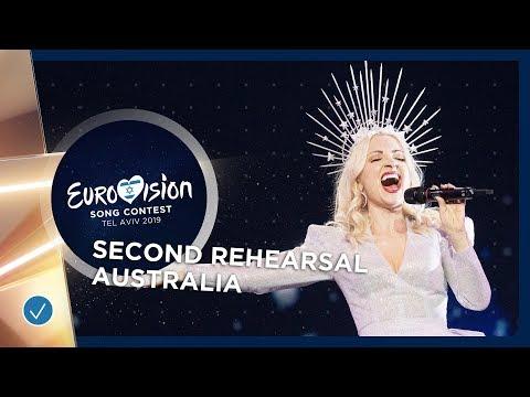 Australia 🇦🇺 - Kate Miller-Heidke - Zero Gravity - Exclusive Rehearsal Clip - Eurovision 2019