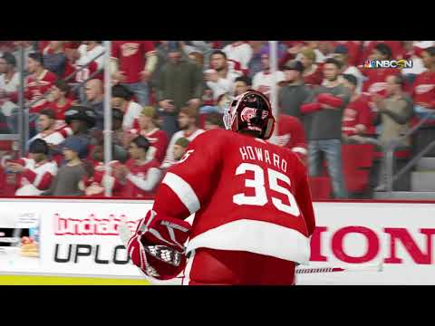 NHL 18 PS4 Season Game  Arizona Coyotes vs Detroit Red Wings 10 31 2017