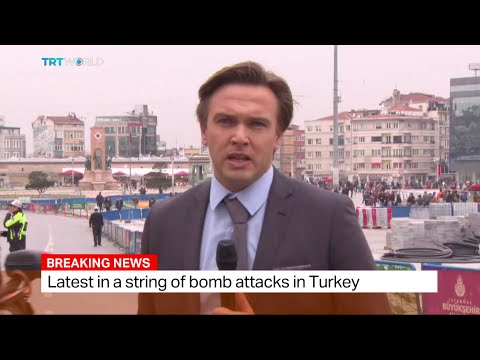 Suicide Bombing In Istanbul's Beyoglu, Ediz Tiyansan Reports