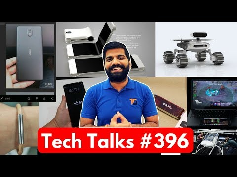 Tech Talks #396 - Samsung Folding Phone, Volocopter, Razer Project Linda, 1TB Pendrive, A8+2018