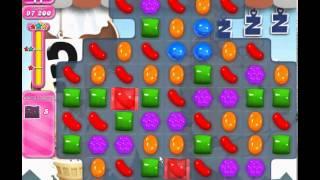 Candy Crush Saga level 702 (3 star, No boosters)