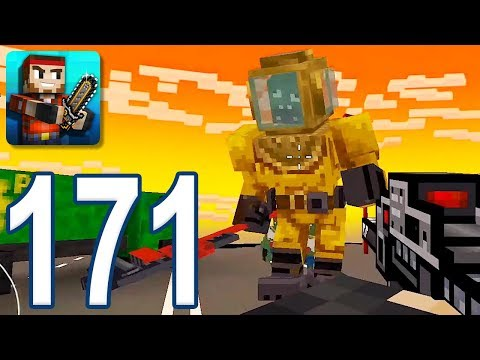 Pixel Gun 3D - Gameplay Walkthrough Part 171 - New Mode: Raids (iOS, Android)