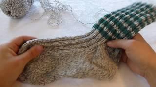 Hvordan strikke sokker, steg for steg.