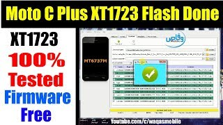 how To Flash Unbrick Motorola Moto C Plus XT1723 100 Tested Firmware Free Download by waqas mobile