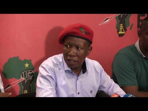 Malema: 'Gigaba is rotten to the core'