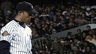 1996 WS Gm6: Rivera throws two scoreless innings
