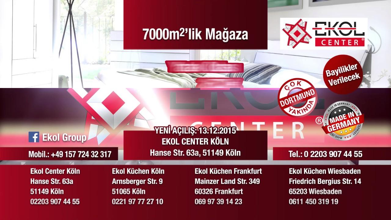 Ekol Kuchen Acilis Videosu Wiesbaden Koln Frankfurt Youtube