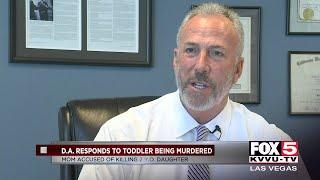 DA responds to Las Vegas murder of toddler